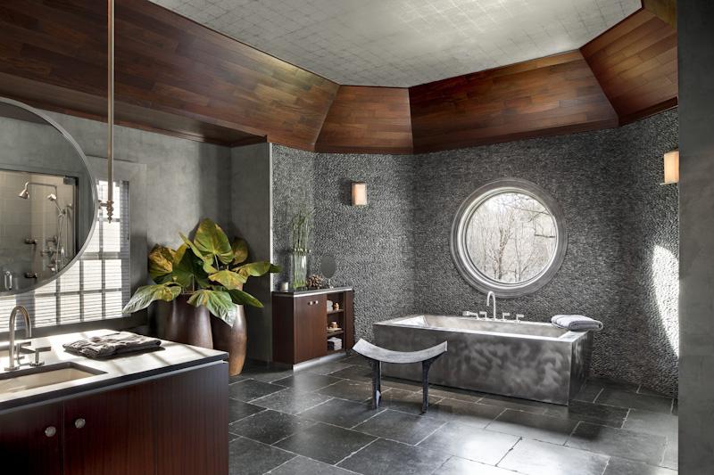 Portfolio sgh design inc - Idee deco salle de bain nature ...